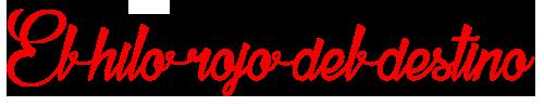 Logo El Hilo Rojo del Destino